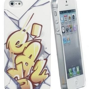 Celly Graffiti Easy Case for iPhone 5 Yellow