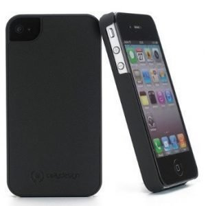 Celly Turbo S Hard Case for iPhone 4S Black