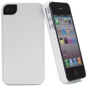 Celly Turbo S Hard Case for iPhone 4S White