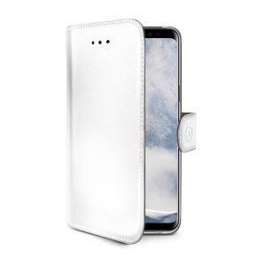 Celly Wally Case Galaxy S9+ White