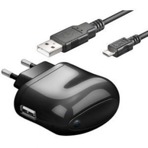 Champion 230V 1A charge & Sync Kit microUSB