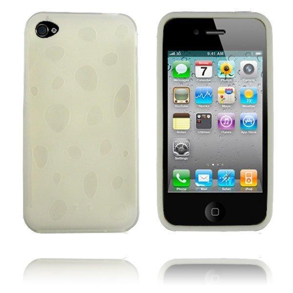 Chees Läpikuultava Iphone 4 Silikonikuori