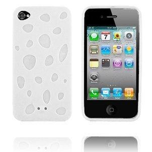 Chees Valkoinen Iphone 4 Silikonikuori