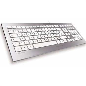 Cherry STRAIT Keyboard QWERTY Silver