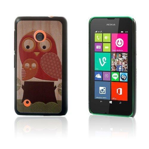 Christensen Edge Nokia Lumia 530 Kova Suojakuori Kaksi Pöllöä