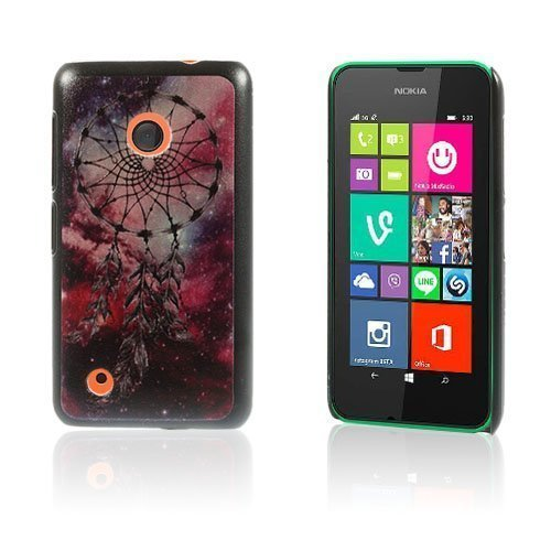 Christensen Edge Nokia Lumia 530 Kova Suojakuori Punainen Unisieppari