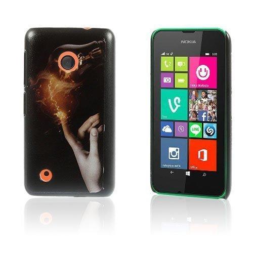 Christensen Edge Nokia Lumia 530 Kova Suojakuori Sähkö Sormi