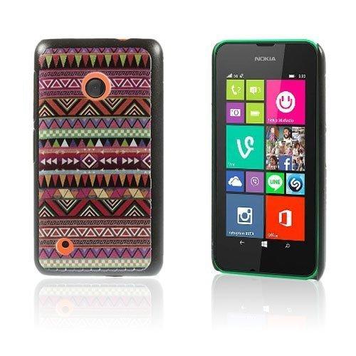 Christensen Edge Nokia Lumia 530 Kova Suojakuori Tribaali Kolmiot
