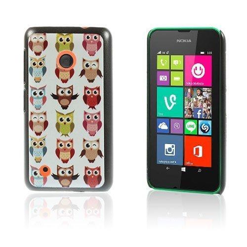 Christensen Edge Nokia Lumia 530 Kova Suojakuori Useat Pöllöt