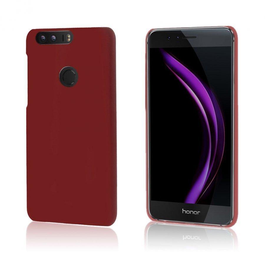 Christensen Huawei Honor 8 Kuminen Suojaava Kuori Punaruskea