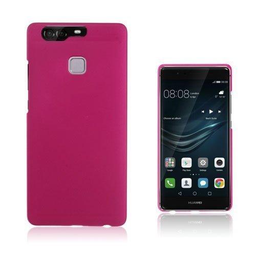 Christensen Huawei P9 Muovikuori Tumma Pinkki
