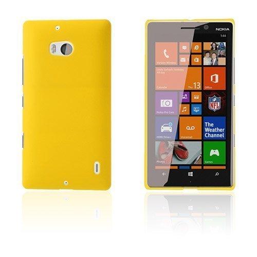 Christensen Keltainen Nokia Lumia 929 / 930 Suojakuori