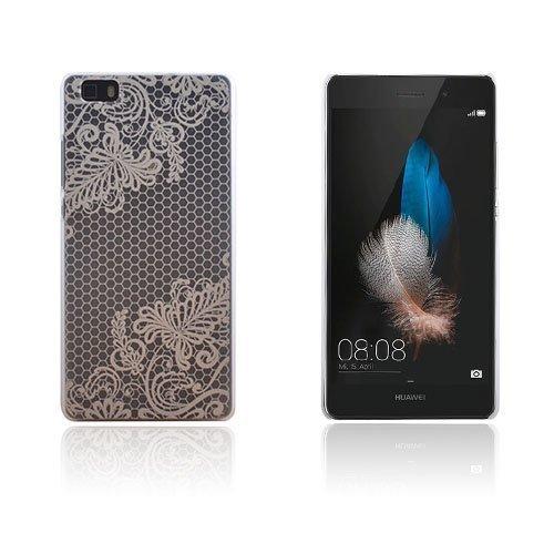 Christensen Kuvioitu Huawei Ascend P8 Lite Kuori Kukka Ja Hunajakenno