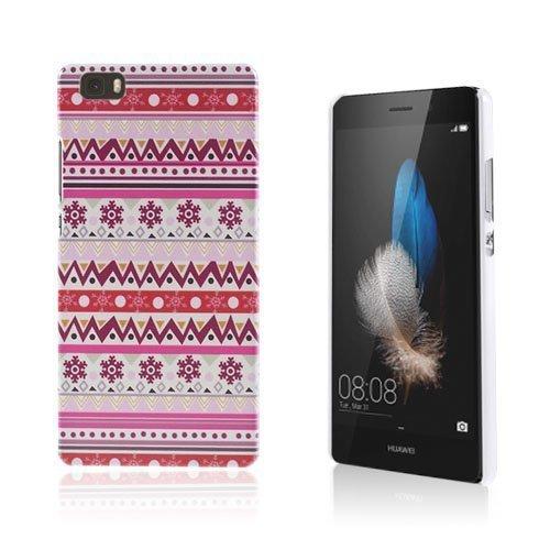 Christensen Kuvioitu Huawei Ascend P8 Lite Kuori Lumihiutale Heimo Kuvio