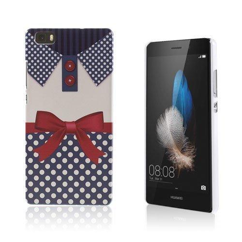 Christensen Kuvioitu Huawei Ascend P8 Lite Kuori Paita Jossa On Rusettisolmu