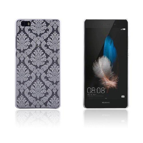 Christensen Kuvioitu Huawei Ascend P8 Lite Kuori Vanhanaikainen Kukka