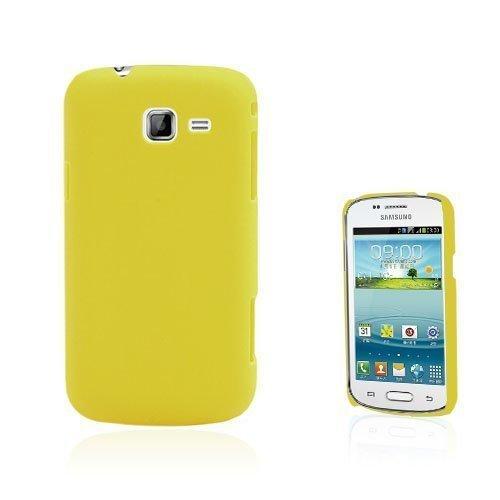Christensen Matta Keltainen Samsung Galaxy Trend Ii Suojakuori