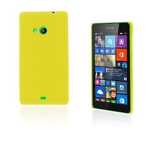 Christensen Microsoft Lumia 535 Suojakuori Keltainen