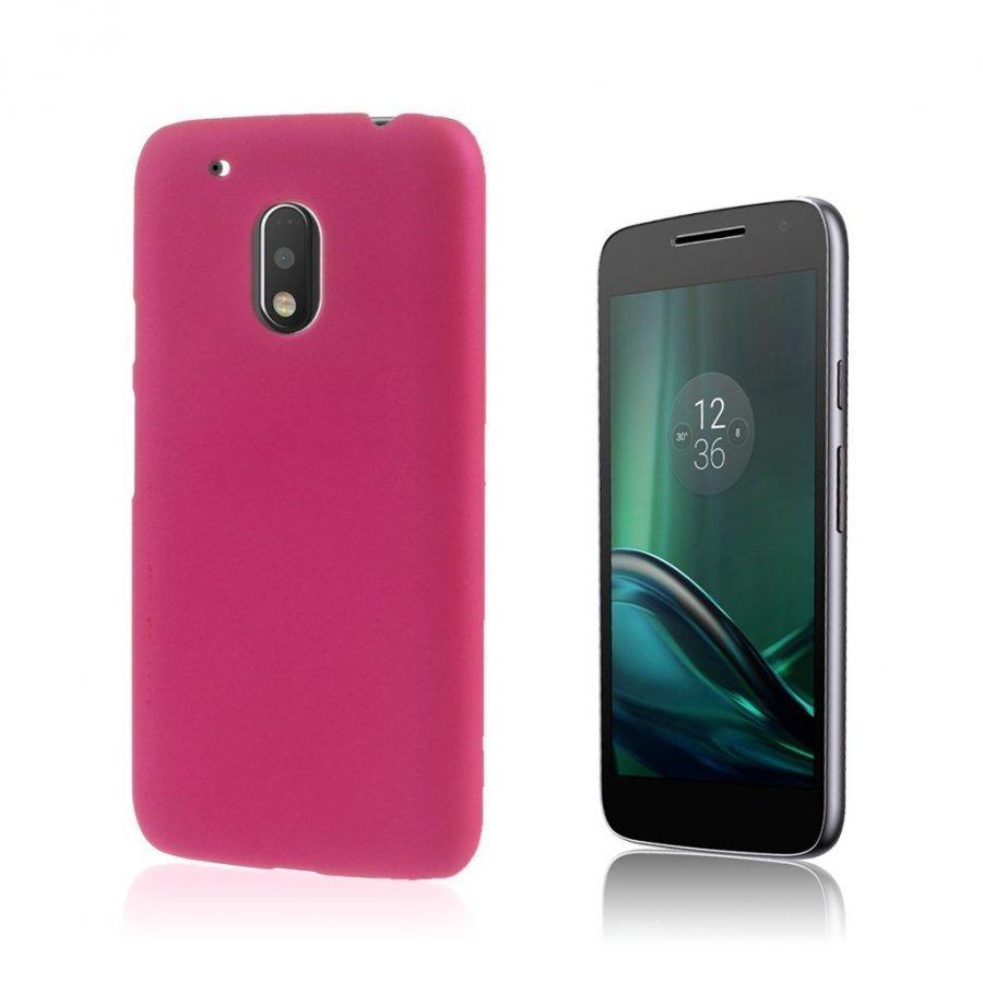 Christensen Motorola G4 Play Kuminen Takakuori Kuuma Pinkki