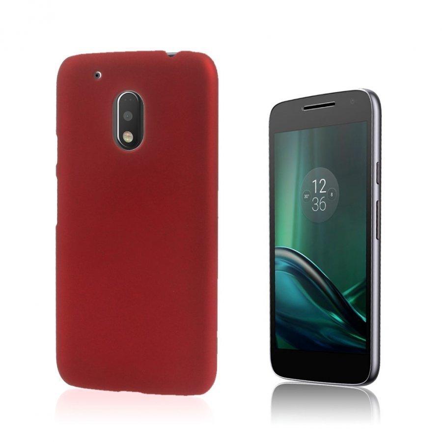 Christensen Motorola G4 Play Kuminen Takakuori Punainen