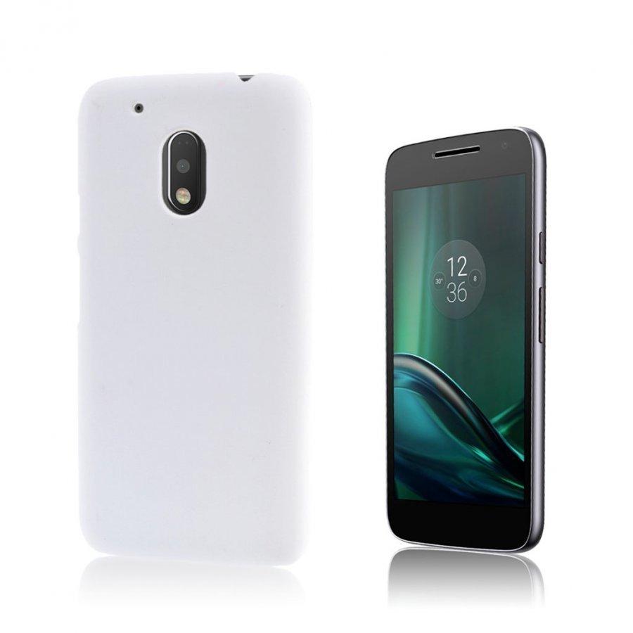 Christensen Motorola G4 Play Kuminen Takakuori Valkoinen