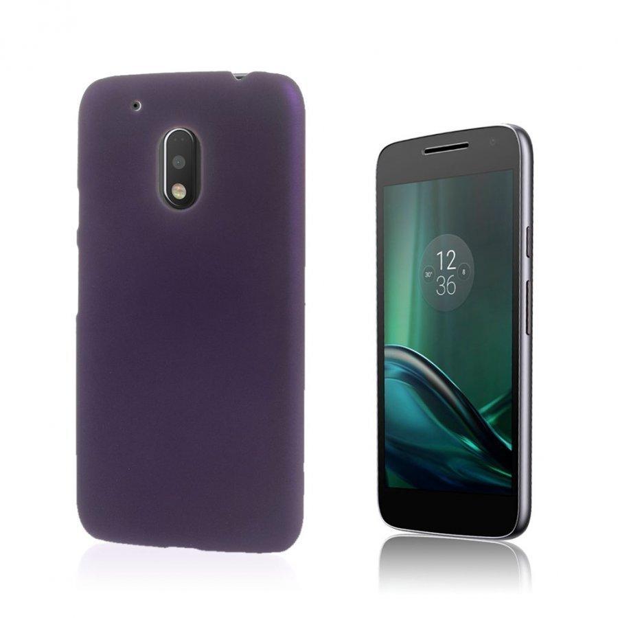 Christensen Motorola G4 Play Kuminen Takakuori Violetti