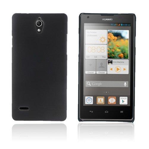 Christensen Musta Huawei Ascend G700 Suojakotelo