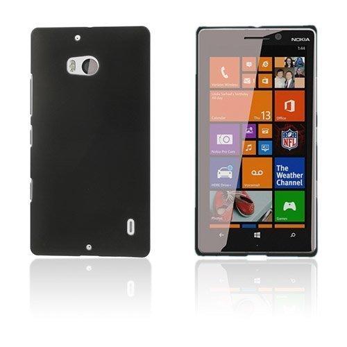 Christensen Musta Nokia Lumia 929 / 930 Suojakuori