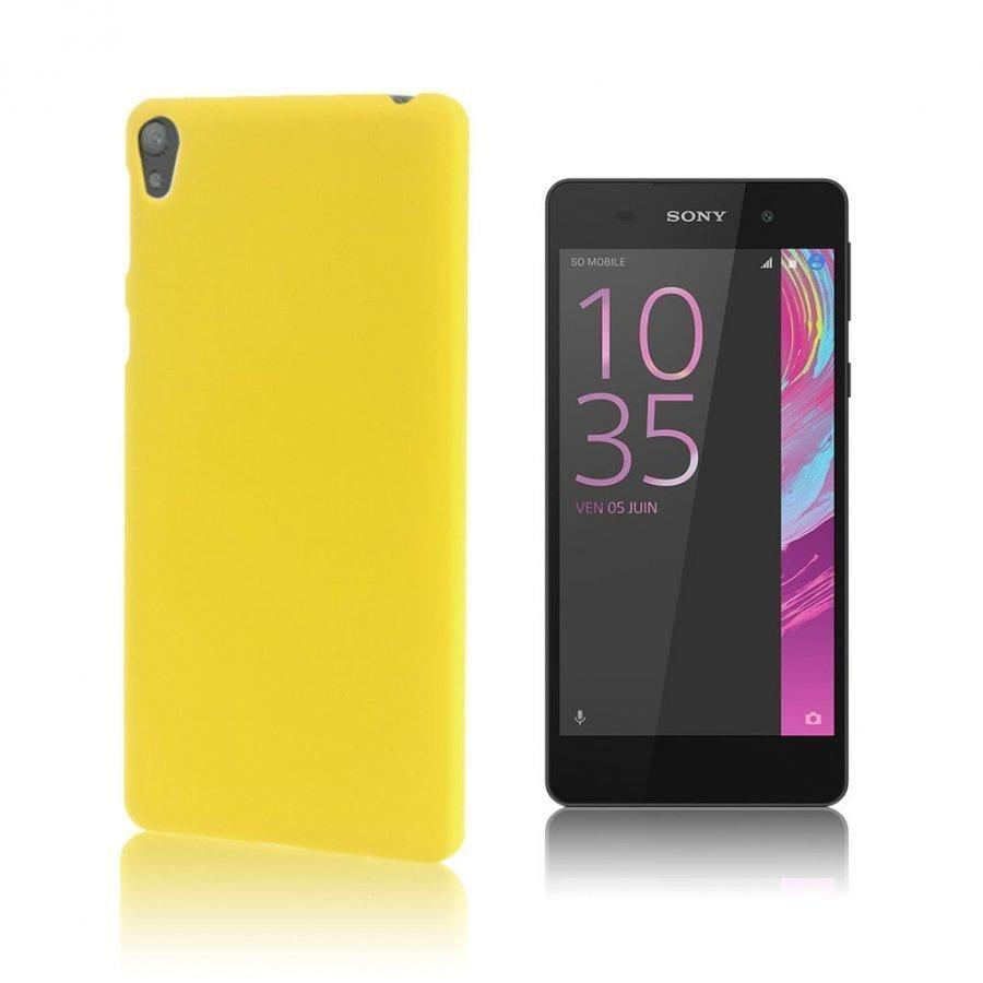 Christensen Sony Xperia E5 Kuminen Kuori Keltainen