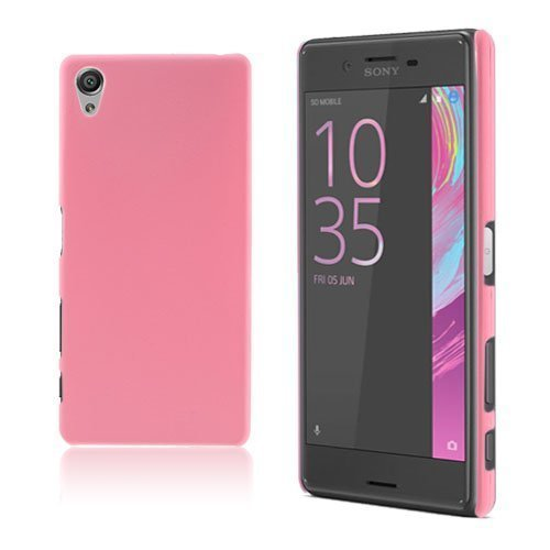 Christensen Sony Xperia X Muovikuori Pinkki