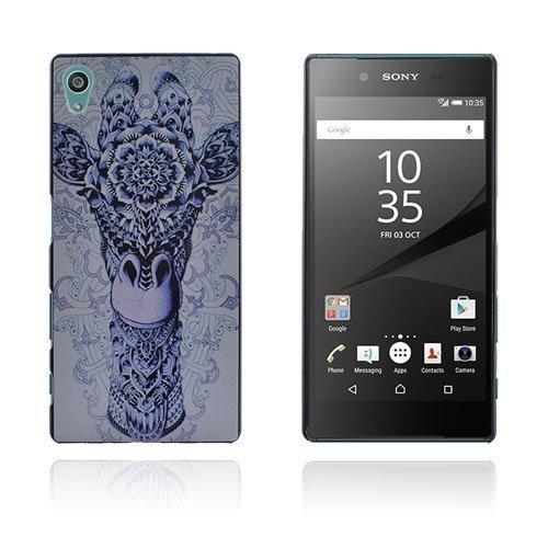 Christensen Sony Xperia Z5 Kuori Kukka Kirahvi