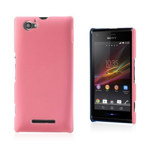 Christensen Vaaleanpunainen Sony Xperia M Suojakuori