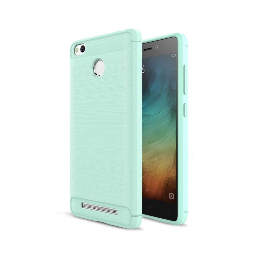 Christensen Xiaomi Redmi 3s Joustava Hiilikuitu Muovikuori Syaani