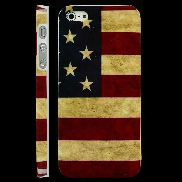 Classic Patriot Us Lippu Iphone 5 Suojakuori