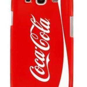 Coca-Cola Hardcover Original Logo for Samsung Galaxy S3