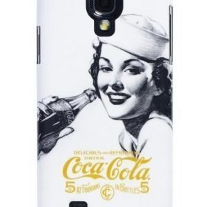 Coca-Cola Hardcover for Samsung Galaxy S4 Golden Beauty
