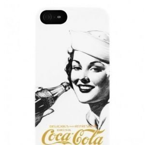 Coca-Cola Hardcover for iPhone 5 Golden Beauty