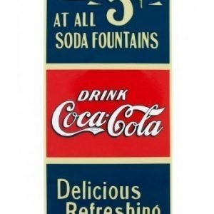 Coca-Cola Hardcover for iPhone 5 Old 5 Cents