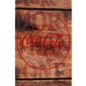 Coca-Cola Hardcover for iPhone 5 Wood