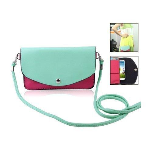 Color Bag Vihreä Nahkalaukku Älypuhelimille Keskikokoinen