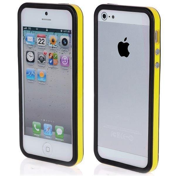 Color Edge Keltainen Iphone 5 Bumper