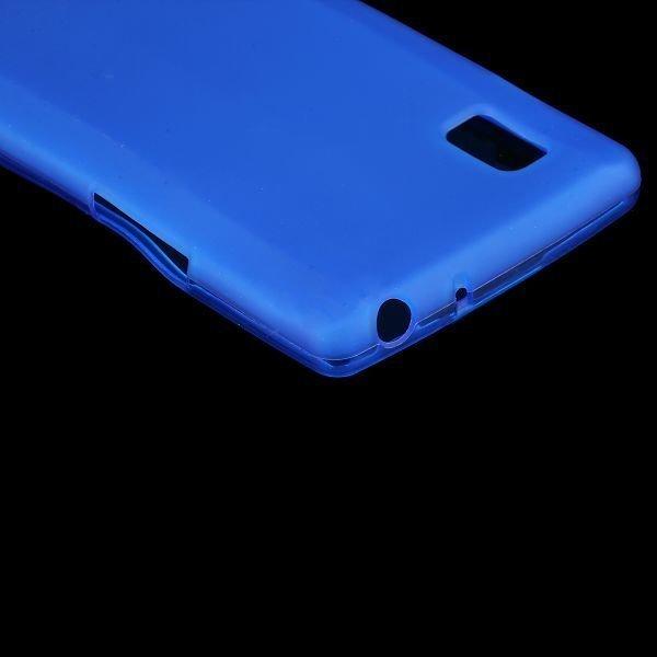 Color Shell Sininen Lg Optimus L9 Silikonikuori