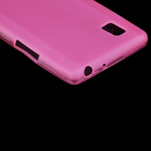 Color Shell Vaaleanpunainen Lg Optimus L9 Suojakuori