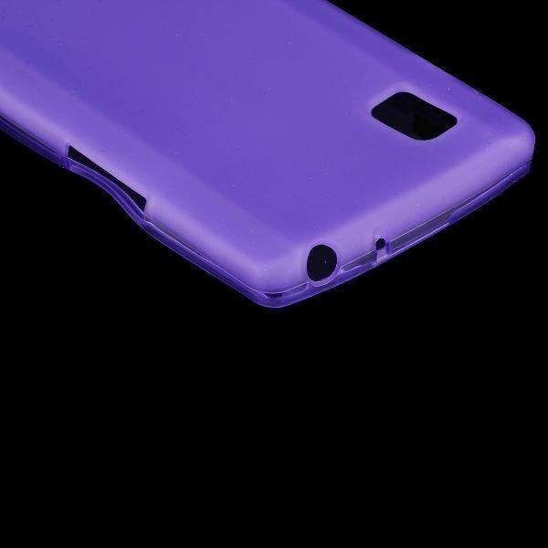 Color Shell Violetti Lg Optimus L9 Silikonikuori