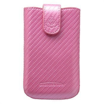 Commander Elegance Carbon Case L Pink