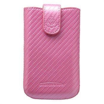 Commander Elegance Carbon Case L Pink