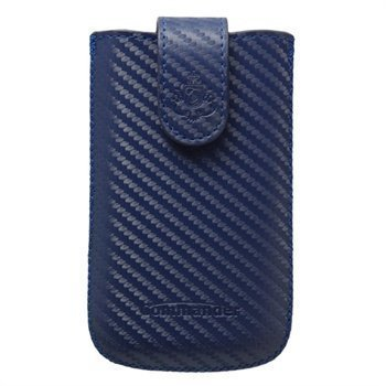 Commander Elegance Carbon Case M Blue