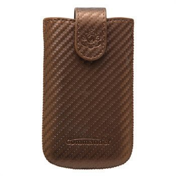 Commander Elegance Carbon Case M Brown
