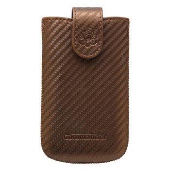 Commander Elegance Carbon Case M Brown