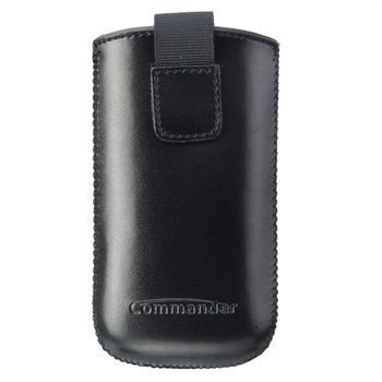Commander Elegance DeLuxe Case SL Leather Black
